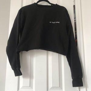 Brandy Melville Sweaters - Cropped sweatshirt